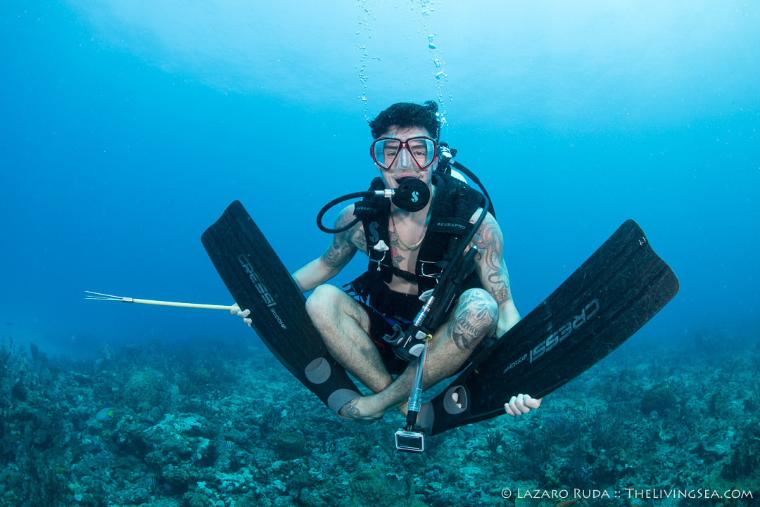 Excuses to go scuba diving - cramping really bad