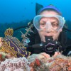 Allison and nudibranch