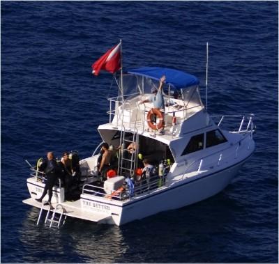 Scuba Dive Boat